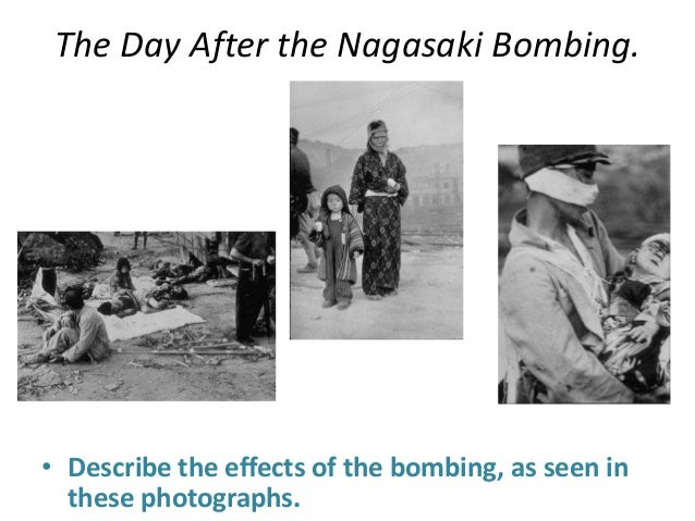 effects of the atomic bomb Hiroshima and nagasaki bombings the two atomic bombs dropped on japan in 1945 killed and maimed hundreds of thousands of people, and their effects are still being.