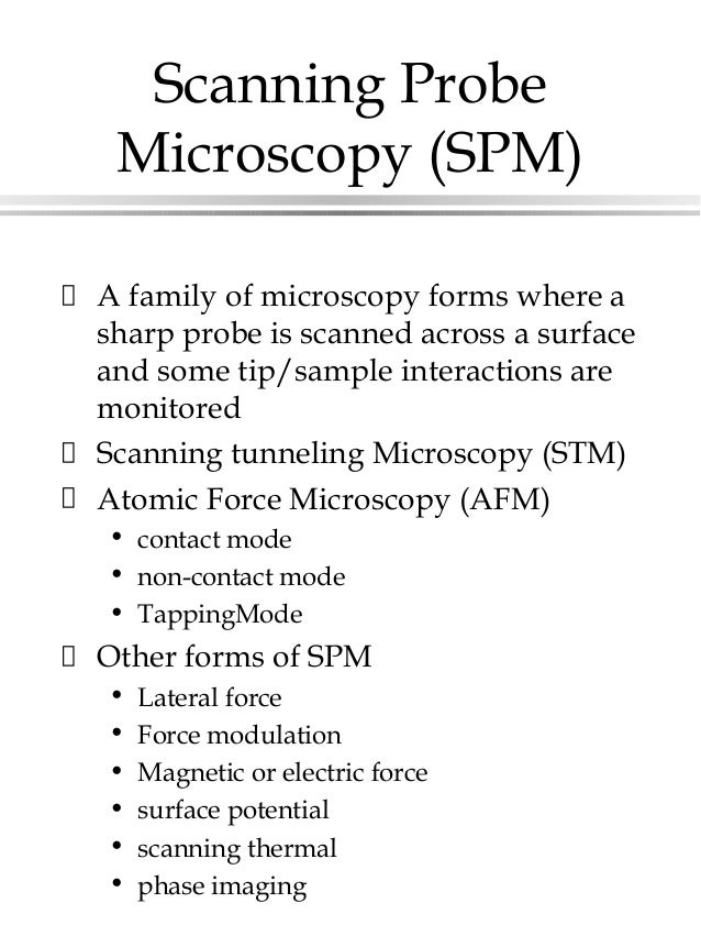 the role of atomic force microscopy essay Nanotechnology or nanotechnology is the study of the manipulation of matter within a molecular and atomic  role in controlling the  atomic force microscopy.