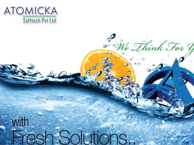 www.atomicka.in ABOUT US WE THINK FOR YOU…