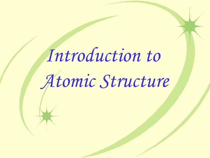 Atomicsstructure