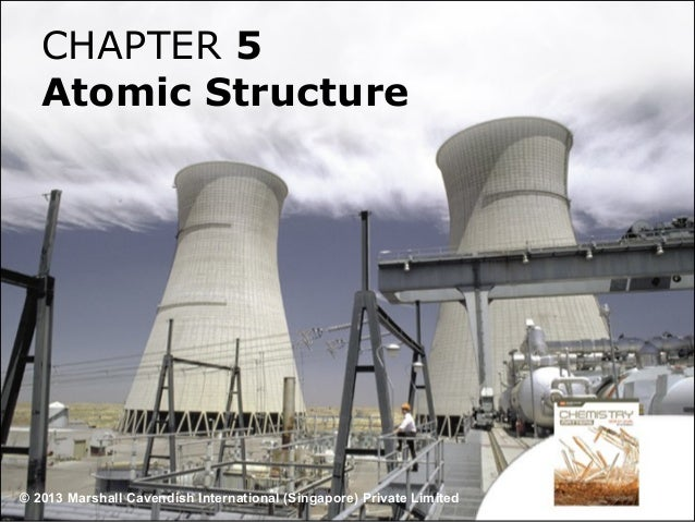 CHAPTER 5 Atomic Structure  © 2013 Marshall Cavendish International (Singapore) Private Limited