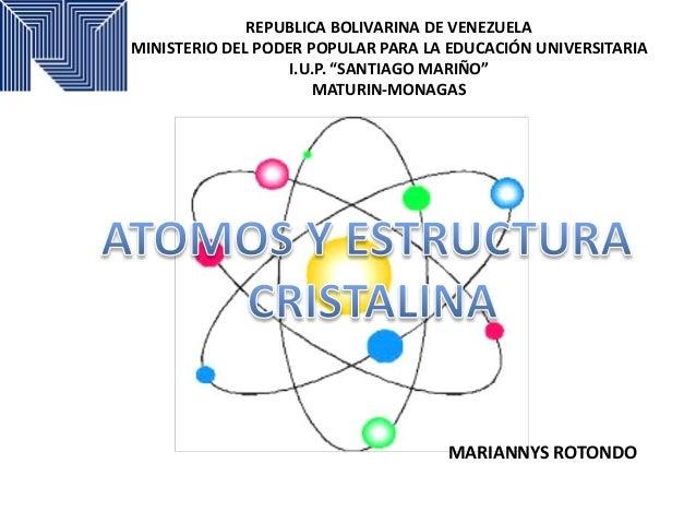 "REPUBLICA BOLIVARINA DE VENEZUELA MINISTERIO DEL PODER POPULAR PARA LA EDUCACIÓN UNIVERSITARIA I.U.P. ""SANTIAGO MARIÑO"" MA..."