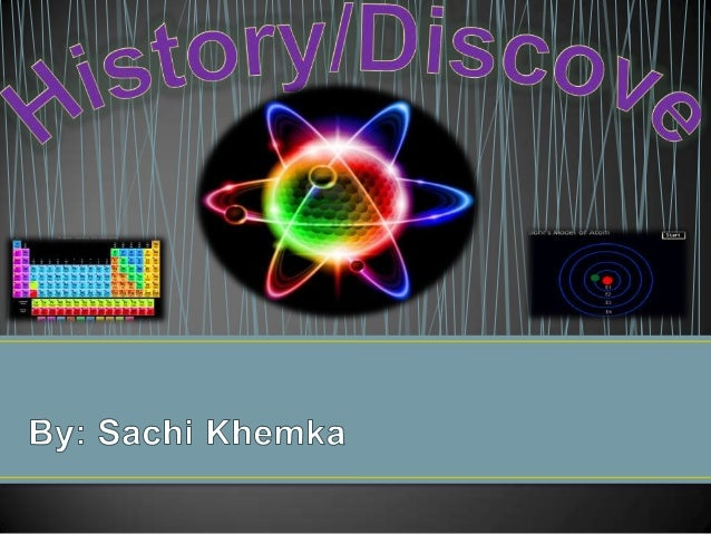 **** The model of the atoms changing throughout history **** The contributions of many men towards the discovery of the at...