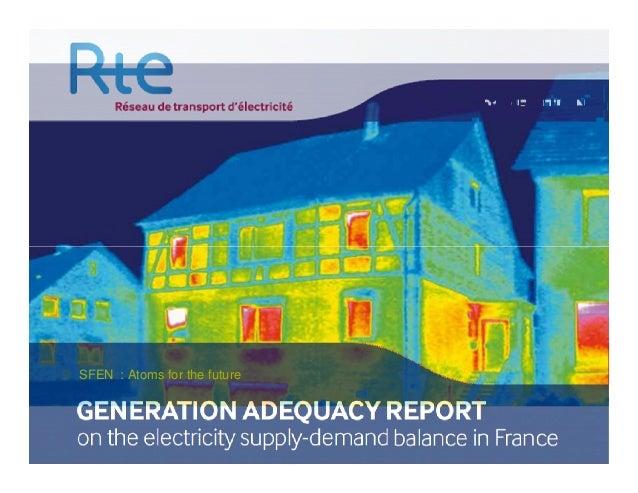 Hervé Mignon the RTE Economic Prospective and Transparency Director (Atoms for the Future 2013)