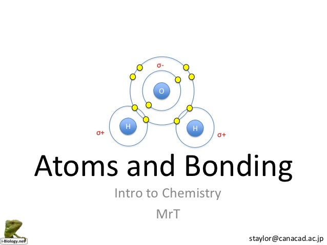 atoms airs and chemical bonding Atoms, airs, and chemical bonding rich mcconnell, ch-201 grantham university atoms, airs, and chemical bonding 1 alcohol in our digestive system reacts with oxygen.