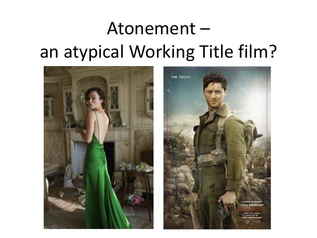 Atonement : Film Study