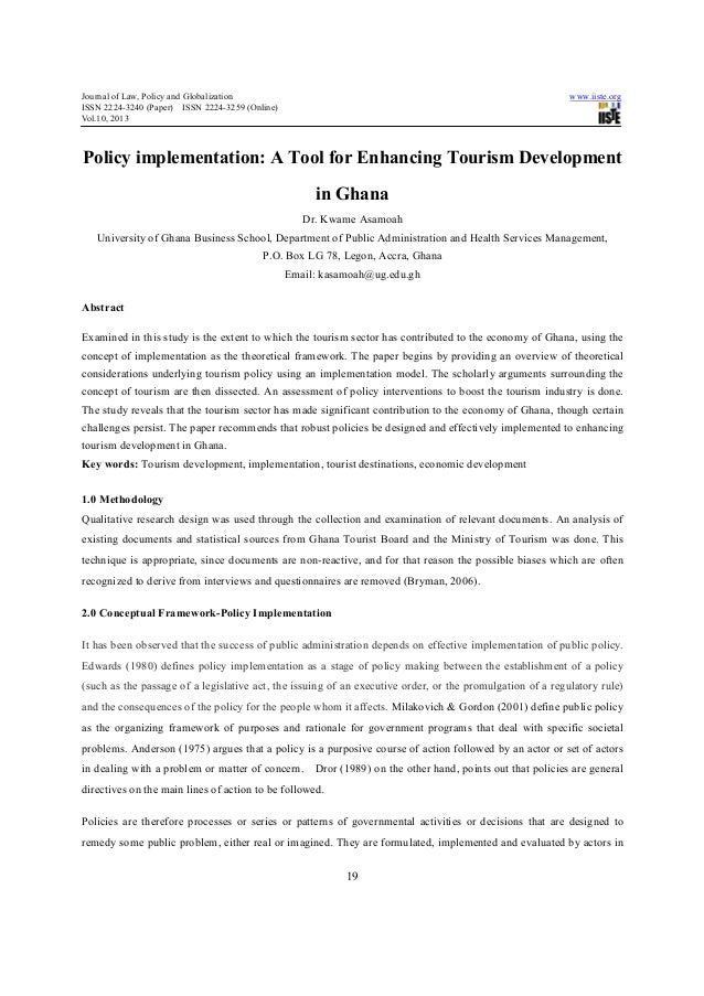 Journal of Law, Policy and Globalization                                                                     www.iiste.org...