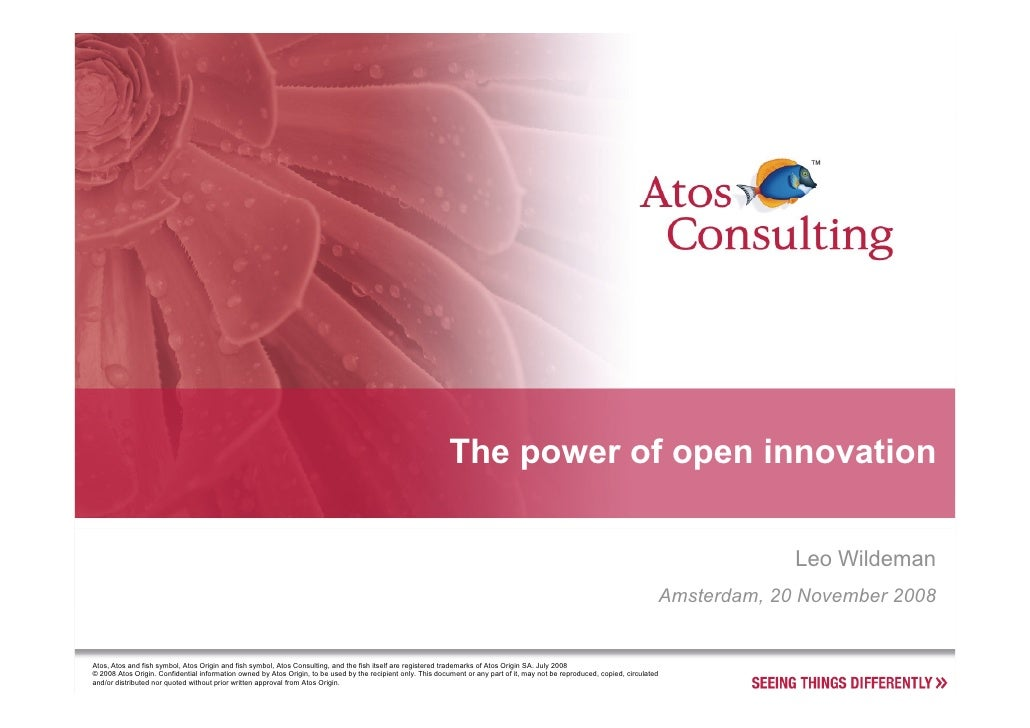 The power of open innovation                                                                                              ...