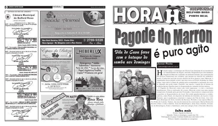 8 Atos Oficiais             Sábado, 02 de junho de 2012   Quarta-Feira, 09 de Novembro de 2011 ESTADO DO RIO DE JANEIRO   ...