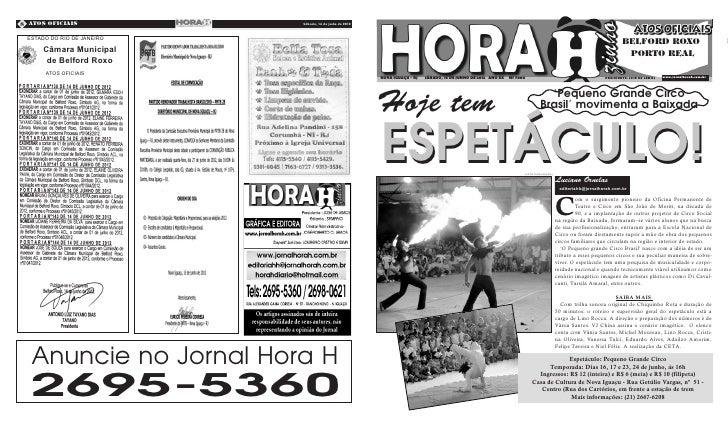 8 Atos Oficiais             Sábado, 16 de junho de 2012   Quarta-Feira, 09 de Novembro de 2011 ESTADO DO RIO DE JANEIRO   ...