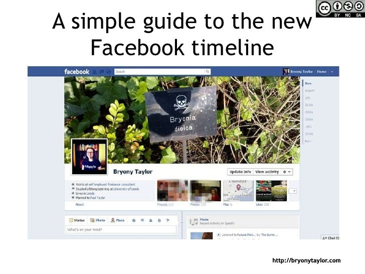 A simple guide to the new Facebook timeline<br />