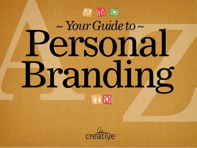 ZAPersonal Branding ~YourGuideto~