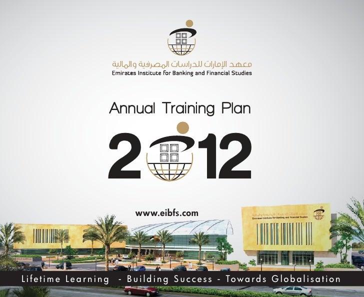 Annual Training Programmes