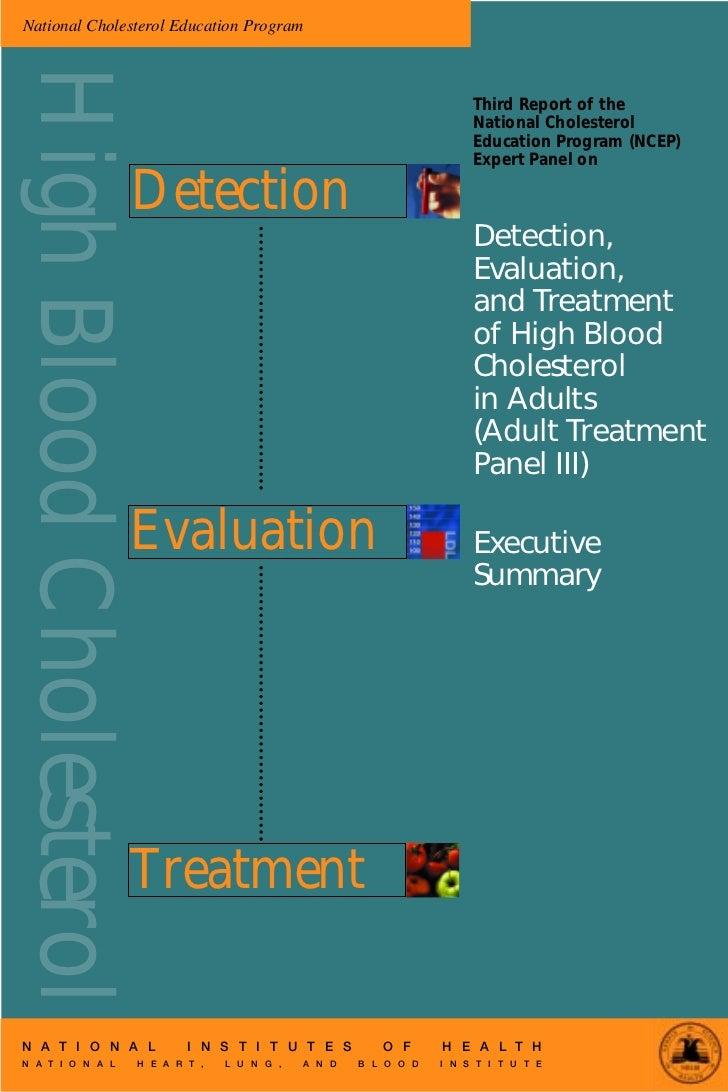 National Cholesterol Education ProgramHigh Blood Cholesterol                                                              ...