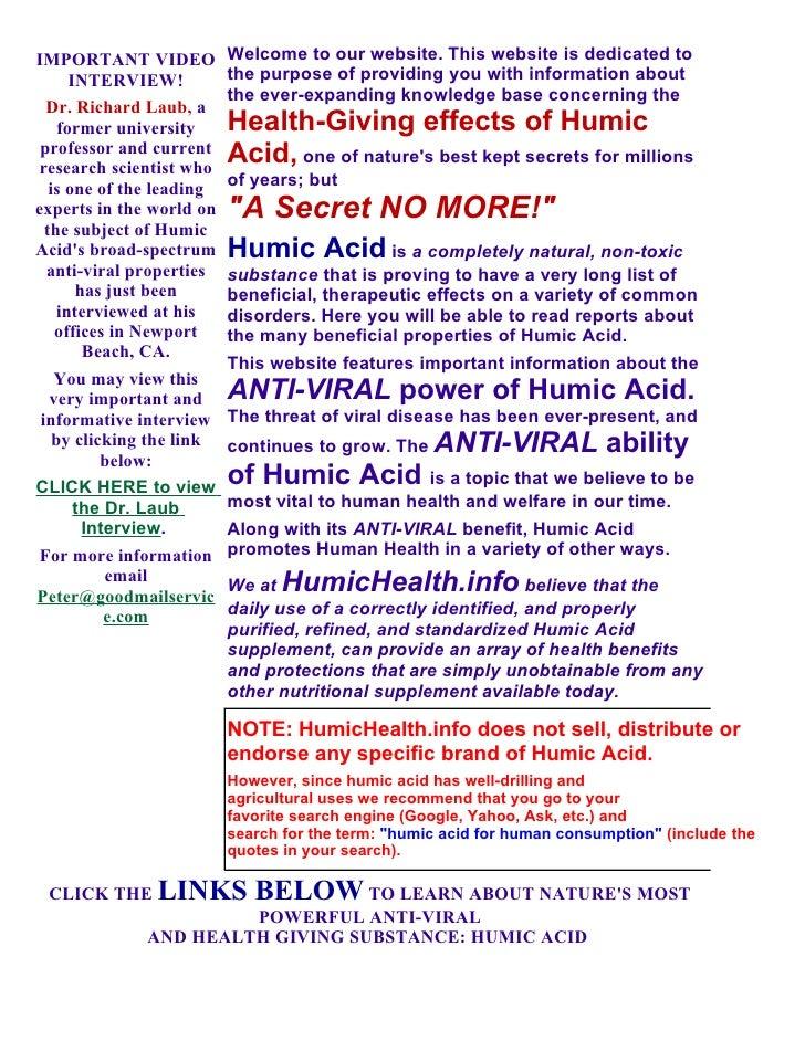 ATP Blog14 - Humichealth.Info- Medicinal Use of Humic Substances; series no.1