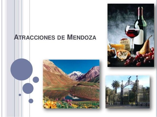 Atracciones de Mendoza
