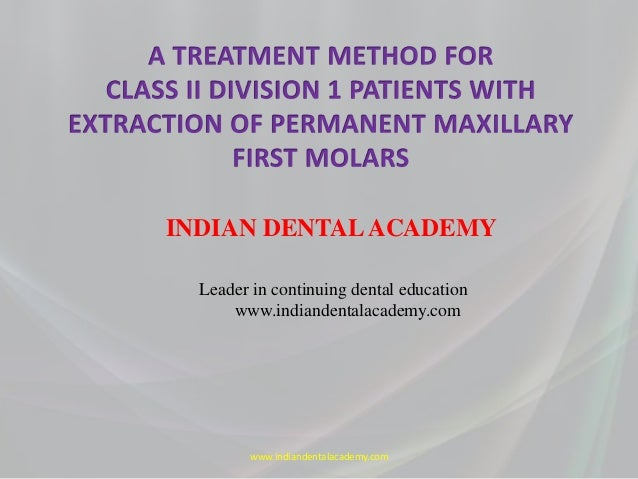 A treatment method for / dental courses /certified fixed orthodontic courses by Indian dental academy