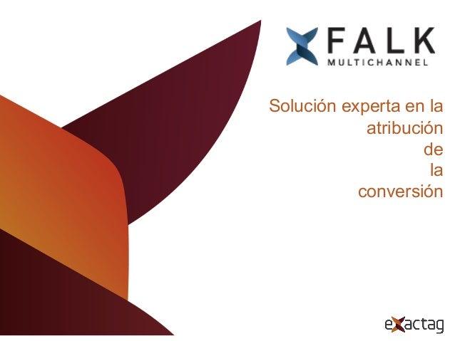 Atribución de la  conversión y optimización de la inversión publicitaria.