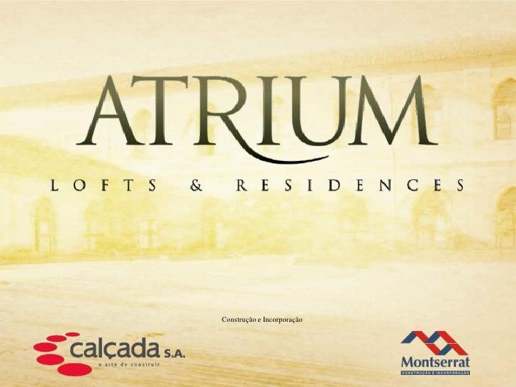 Atrium Residences e Lofts | rioimoveisrj.com
