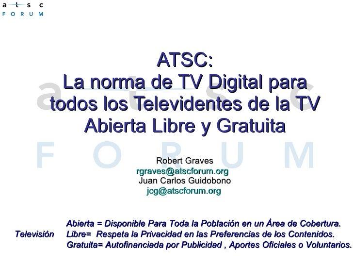 Normas de ATSC