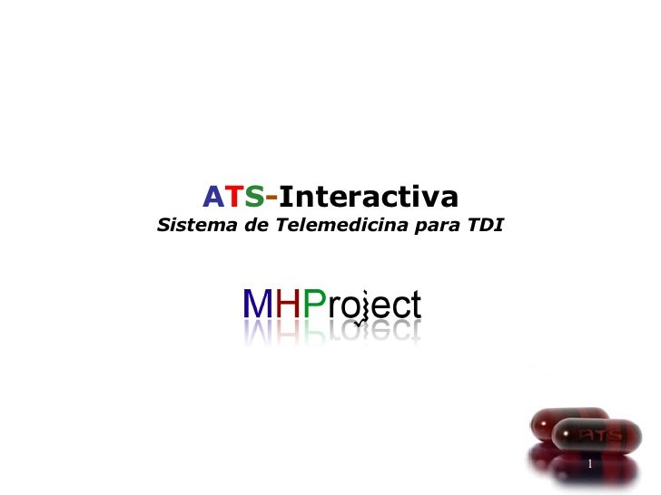 A T S - Interactiva Sistema de Telemedicina para TDI