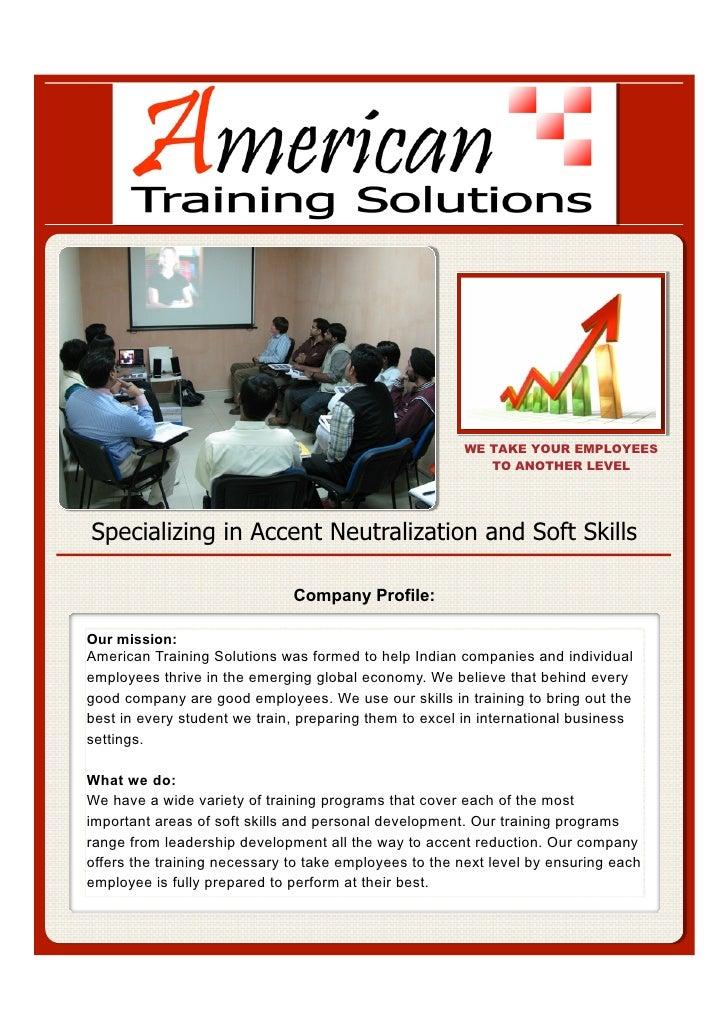 American Training Solutions Portfolio