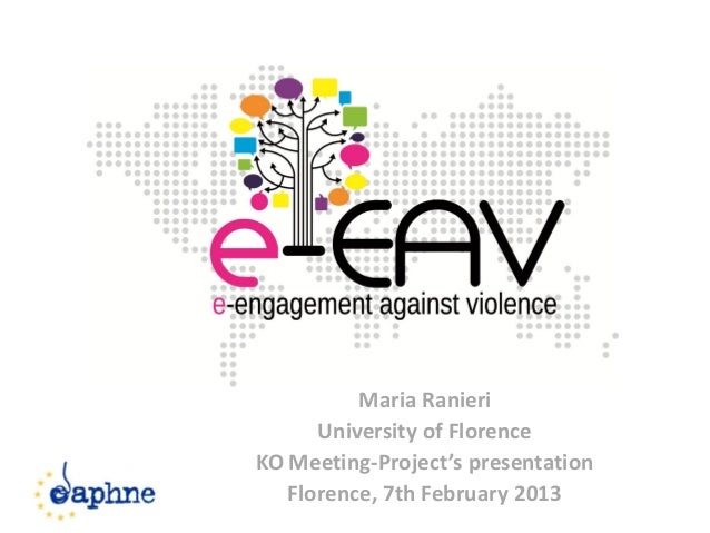 e-EAV: Project presentation