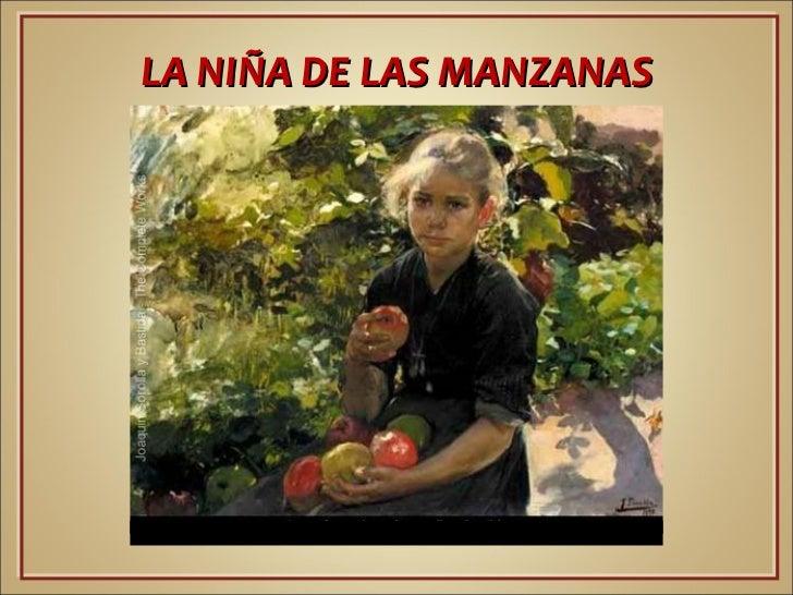 LA NIÑA DE LASMANZANAS.