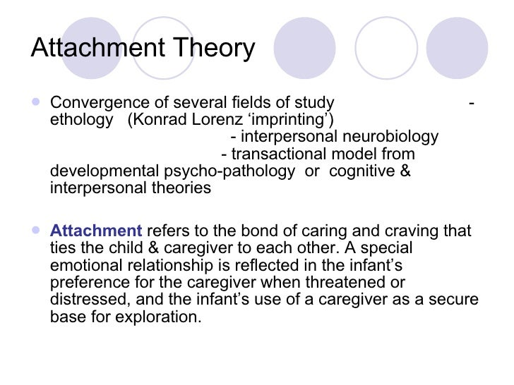 attachment theory a bond for specific Attachment theory essay  hypothesis assumes that continual disruption of the attachment bond between the infant  the development of specific attachment is.