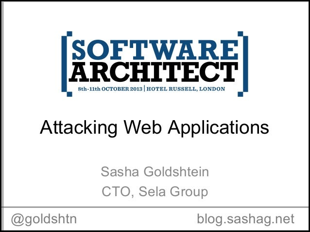 Attacking Web Applications