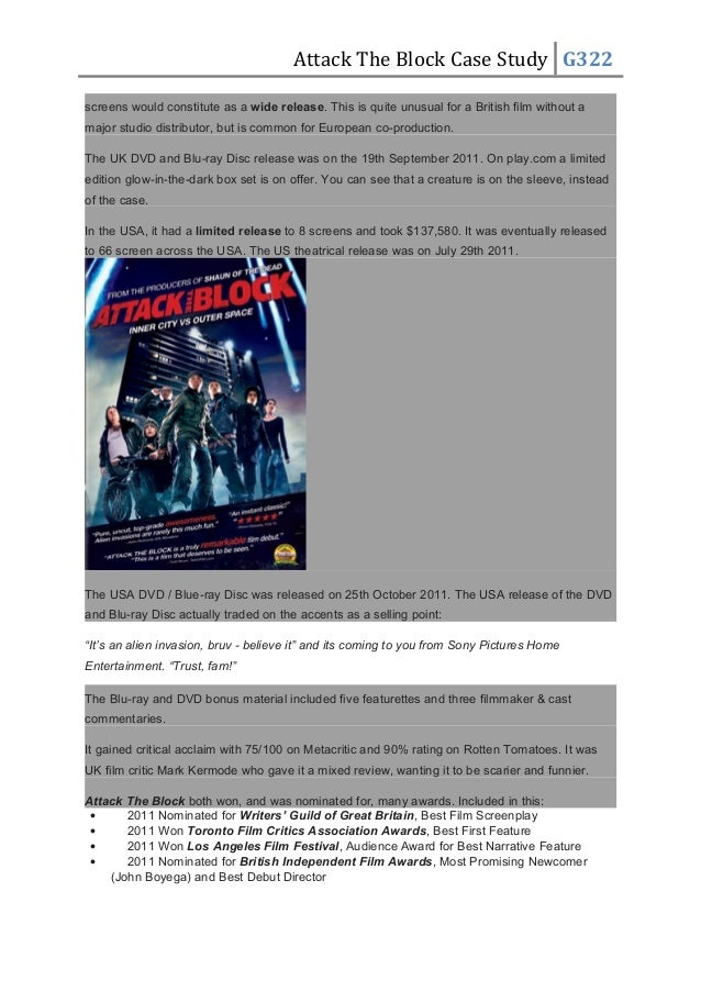 block buster case study Providing the most expansive selection of dvds an easy way to choose movies and fast, free delivery blockbuster vision statement our corporate mission.