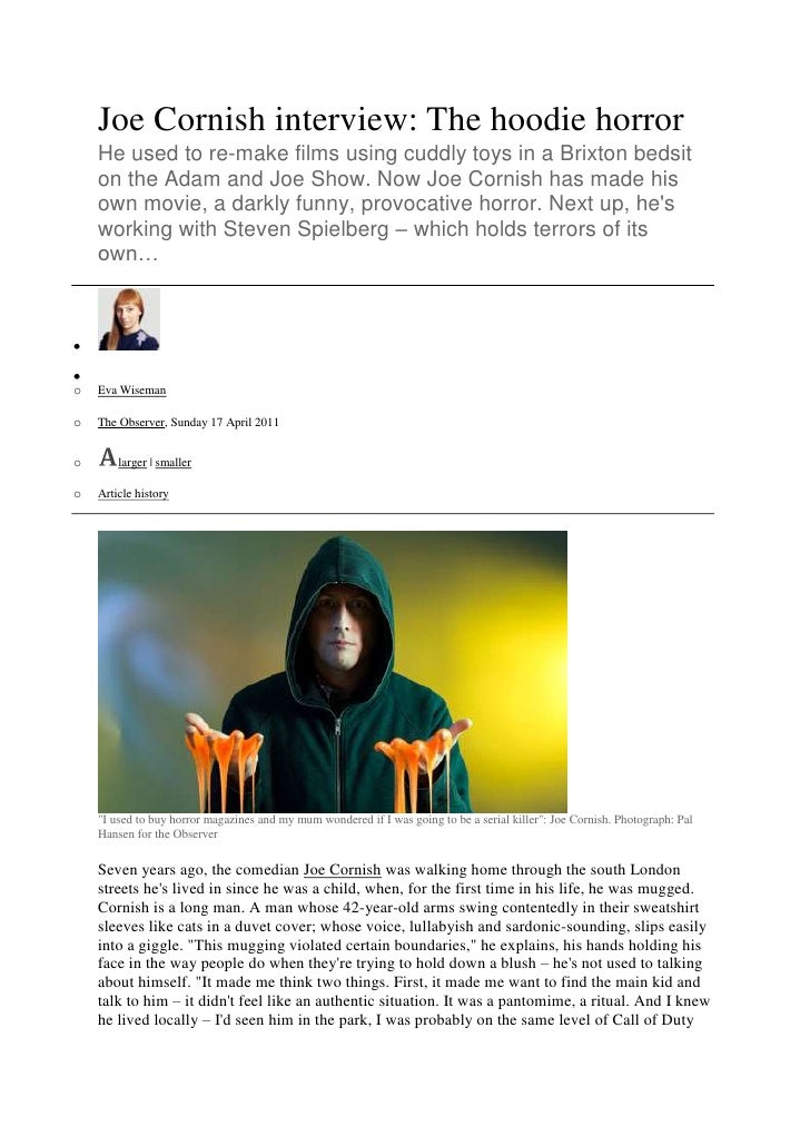 Attack the block interview