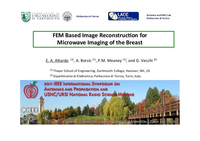 FEM$Based$Image$Reconstruc4on$for$Microwave$Imaging$of$the$Breast$ Antenna&and&EMC&Lab& Politecnico&di&Torino&&&&&&&&&&&&&...
