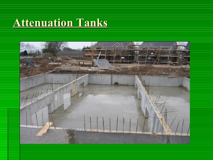 Attenuation Tanks