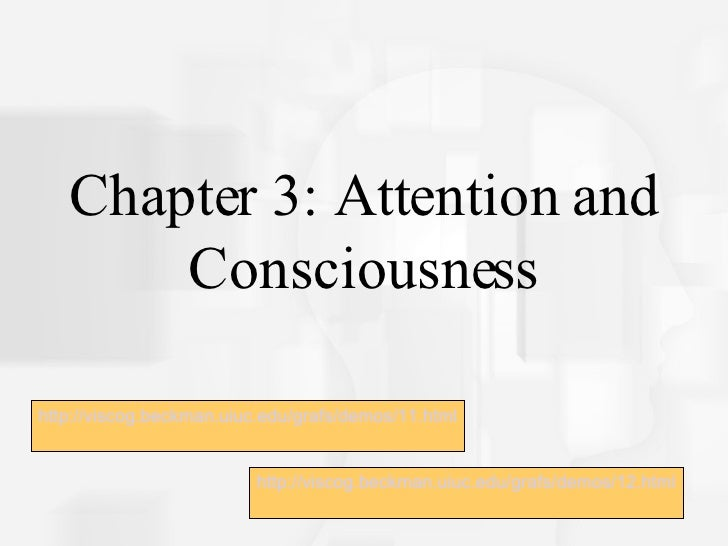 Attention and Consciousness