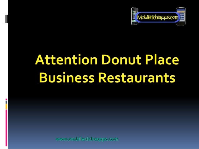 Why Donut Places needs a  Mobile Landing Page