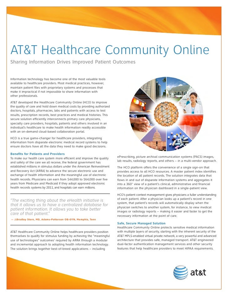 AT&T Healthcare Community Online