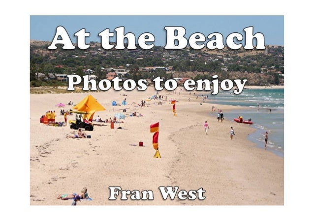 At the Beach: Photos to enjoy (a children's picture book) Kindle Edition by Fran West