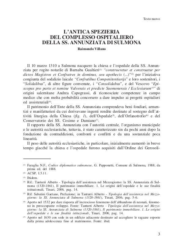 Raimondo Villano- Antica spezieria di Sulmona