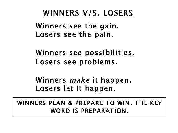 Winners Make it Happen Losers Let it Happen Quote Winners Make it Happen Losers