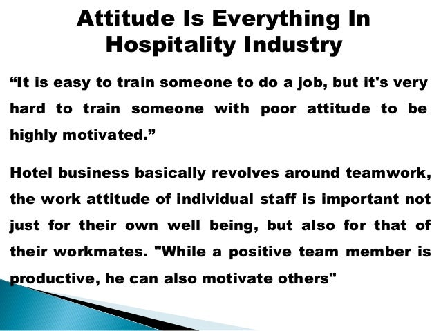 customer service in hospitality industry pdf