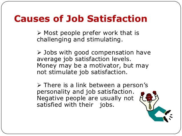 motivation and job satisfaction levels of