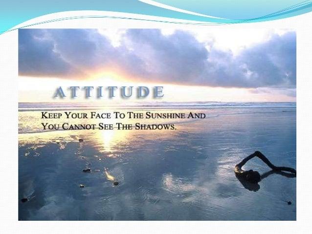Attitude by Rashmiranjan das.my 1st