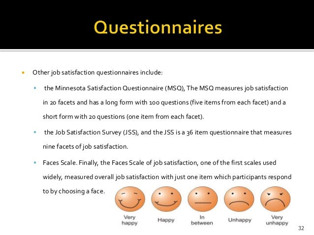 Employee Attitude And Job Satisfaction Survey  Custom Paper