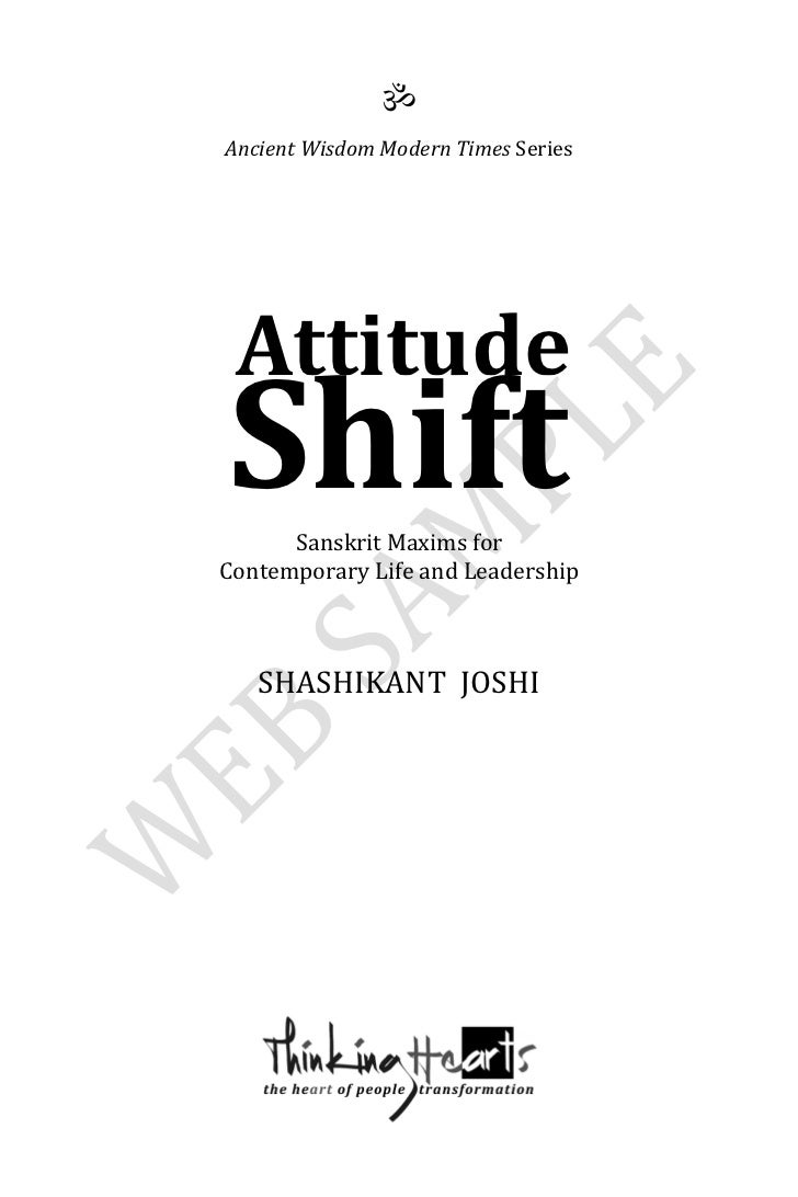 In Music, What does Attitude/Shift mean?