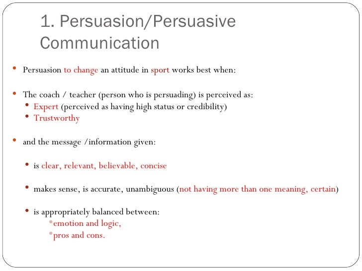 Communication and Persuasion in the Digital Age