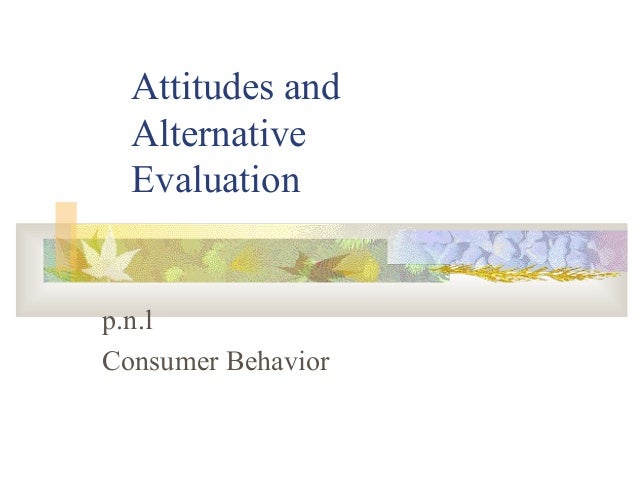 Attitudes of  conbehavior
