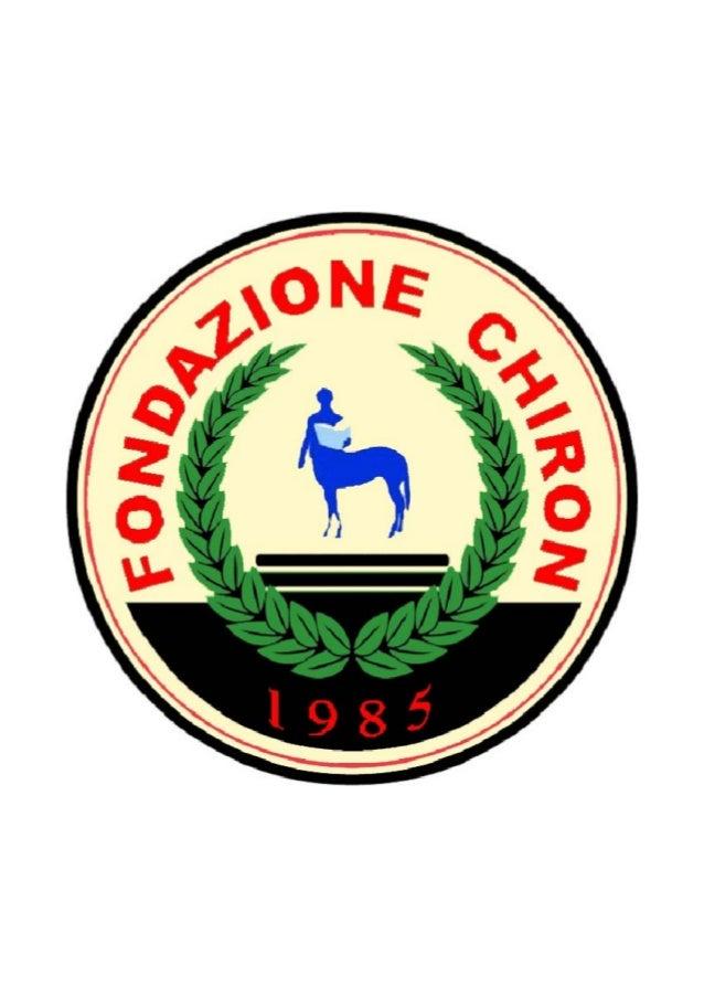 Attività Fondazione Chiron 2011