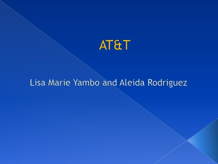 AT&T<br />Lisa Marie Yambo and Aleida Rodriguez<br />