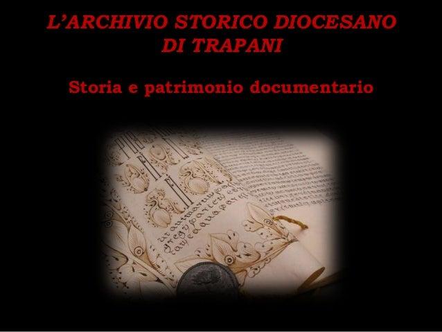 ATTPT - Archivio storico diocesano
